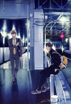 Shirotani & Kurose   Ten Count #manga #yaoi