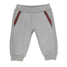 Gucci - Baby Boy Grey Jogging Pants