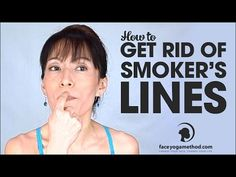 Get Rid of Smokers Lines – Upper Lip Lift – Vertical Lip Lines – Perioral Wrinkles Lip Wrinkles, Prevent Wrinkles, Lower Face Lift, Smokers Lines, Face Yoga Method, Face Yoga Exercises, Stretches, Facial Yoga, Skin Treatments