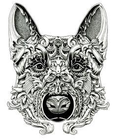 My Dogs: Drawings by Alex Konahin