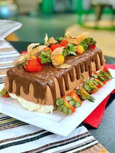 Chocolate Terrine, Ganache, Food And Drink, Cake, Desserts, Tv, Instagram, Salty Snacks, Sprinkle Cakes