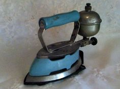 Vintage Iron -  Mum took ours away in the Caravan to iron without electricity.