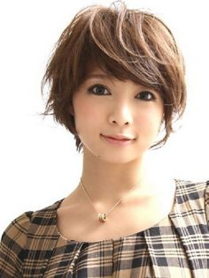 Japanese short hairstyle