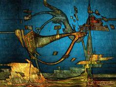 Digital Art, Machineria, dynamic painting, Creative Fine-art painting visionary art virtual art gallery, modern computer technology Nonfigurative philosophical fractal Digital poster limited edition giclee art print, illustration canvas, modern neo-surrealism Fantasy dream, imaginative artistic.