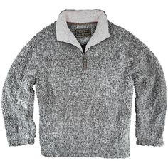 The highly sought after stylish True Grit Frosty Tipped ½ Zip Fleece Pullover is here! The 100% polyester high loft fleece is unbelievably soft, plush, & cozy.