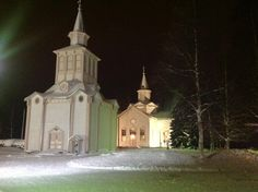 I started my year here. Wooden Church of Soini, Soini, Finland.
