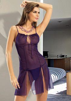 Ahu İç Giyim Mor Tül Transparan Gecelik http://www.hasuta.com/Mor-Tul-Transparan-Gecelik,PR-1948.html
