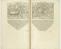 – COLONNA, Fra Francesco. Hypnérotomachie (El sueño de Polífilo). Impreso por Jacques Kerver, París, 1546. Tipografía de Claude Garamond. Fuente: Gallica