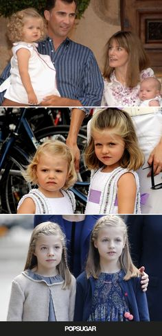 The Cutest Pictures of Princess Leonor and Infanta Sofía of Spain