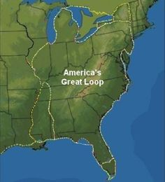 http://www.captainjohn.org/  how to cruise america's great loop