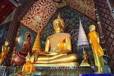 Wat Suan Dok in Chiang Mai.