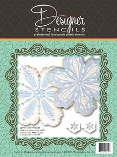 Snowflake Cookie Set (no cutter)