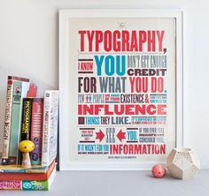 Typography Quote