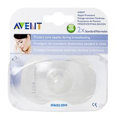 Image for Avent Breast Care Nipple Protectors Standard - 2 Pack from Amcal