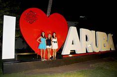 Family fun moments in Aruba. Cannot forget about the I LOVE Aruba sign to end the session #ILOVEARUBA #Family #Aruba