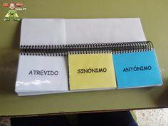 Súper PT: Libro Móvil de los Sinónimos y Antónimos.