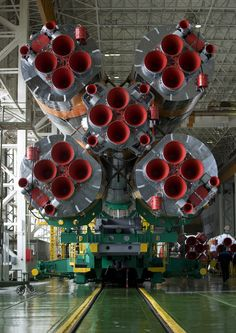 Expedition 19 Soyuz Launch Vehicle /by nasa #flickr #soyuz #rocket #engine #nozzle