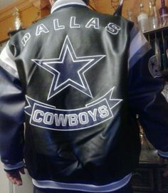 Nfl leather jacket dallas cowboys