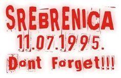 Weblog Harry van Bommel » Het leed van Srebrenica