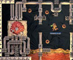 Papercraft Nintendo Posters