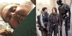 Rogue One: Uma História Star Wars   Fã com doença terminal pede para assistir o…