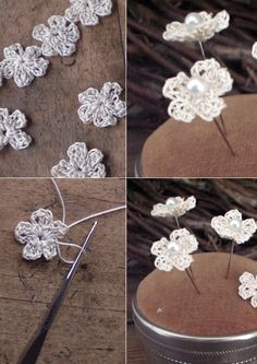I came across this quick 5 minute crochet flower demo and had to share it.