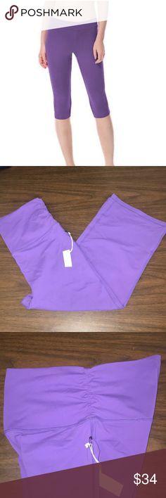 so Soft NWT Women/'s Green Tea Lounge Athletic Pants Purple//Purple Size Medium