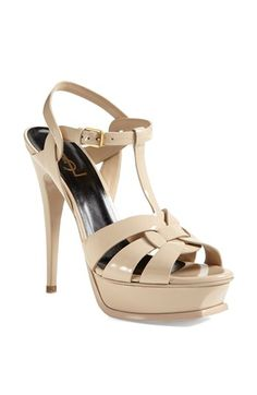 Saint Laurent 'Tribute' T-Strap Sandal | Nordstrom