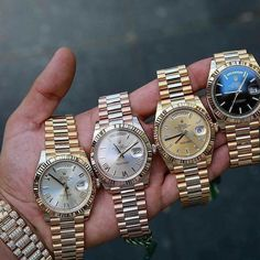 Rolex DayDate Get your Favorite Watch Today % Authentic Buy-Sell-Trade WhatsApp Big Watches, Cool Watches, Rolex Watches, Rolex Air King, Mens Sport Watches, Luxury Watches For Men, Rolex Day Date, Hand Watch, Men Watches