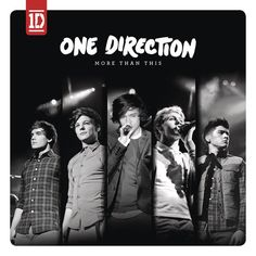 Caratula Frontal de One Direction - More Than This (Cd Single)