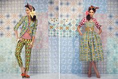 I can't get over how much I love the SS 2014 collection by Stella Jean.
