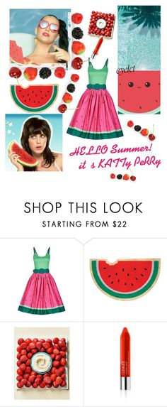 """""""Eyelet.  ktp summer!"""" by aura-helena ❤ liked on Polyvore featuring Collectif, Sunnylife and Clinique"""