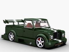 Land Rover Defender 3D Model .max .c4d .obj .3ds .fbx .lwo .stl @3DExport.com by mavico