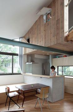 Small House with Floating Treehouse,© Masayoshi Ishii