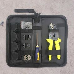 Details About Steel Ratchet Crimper Plier Crimping Tool Cable Wire Electrical Terminals Kit In 2020 Crimping Tool Crimper Crimping