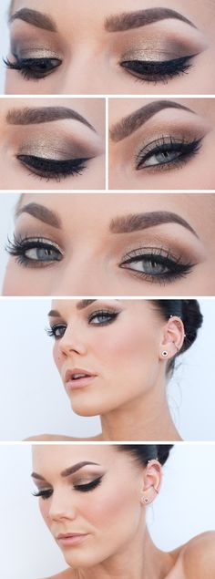 ♥ Linda Hallberg - incredible makeup artist. Very inspiring -- from her daily makeup blog.