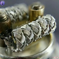 Braided coils Tag a friend Photo & build by @manipulated_metals by vapeporn