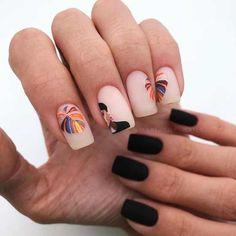 Nail Art Designs, Latest Nail Designs, Square Nail Designs, Stylish Nails, Trendy Nails, Cute Acrylic Nails, Cute Nails, Mac Nails, Art Deco Nails