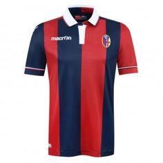 Bologna 2015 2016 Authentic Home Match Football Shirt - Available at  uksoccershop.com Bologna ac98cc8c1
