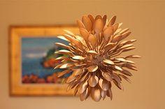 Como reciclar cucharas y tenedores de plástico para el diseño y decoración de tu hogar - QUE GUAPO TIO