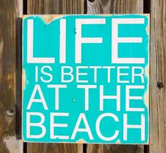 Life is better at the beach :)