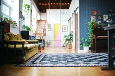 Brooklyn Home Tour: The Funky Loft   Apartment Therapy