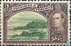 Stamps - Trinidad and Tobago - Mt. Irvine bay, Tobago 1941