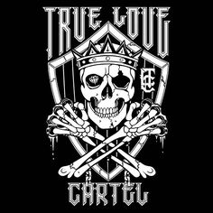 Here's a design I did for myself. This is for my company @truelovecartel Possibly one of my favorite designs. It came together super easy!     #art #artist #illustration #illustrator #sketch #drawing #pencil #pen #ink #tattoo ##art #artist #illustration #illustrator #drawing #pencil #pen #ink #tattoo #tattoo #skull #king