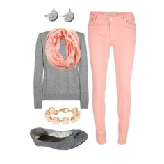A fashion look from April 2013 featuring Iris & Ink sweaters, dVb Victoria Beckham jeans and Wet Seal flats. Browse and shop related looks.