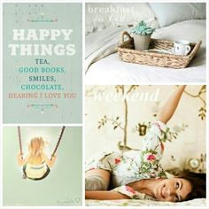 Happy Things. #Moodboards #Mosaic #Collage by Jeetje♡