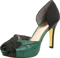 8e362d039576f Amazon.com  Poetic Licence Women s Feel The Rhythm Peep-Toe