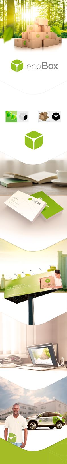 Indentidade Visual | ecoBox on Behance