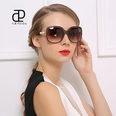 FEIDU New Fashion Sunglasses Women Brand Designer Polarizing Sun Glasses For Women Driving Oculos De Sol Feminino