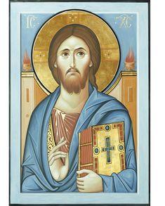 """Icone di Cristo """"Ciò che era fin dal principio.....noi abbiamo veduto con i nostri occhi...e di ciò rendiamo testimonianza""""(1Gv. 1,1-2) Bu..."""